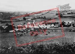 Llansannan, The Village c.1955