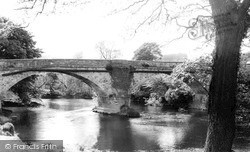 Llansantffraid-Ym-Mechain, The Bridge c.1960