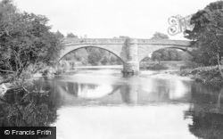 Llansantffraid-Ym-Mechain, The Vyrnwy Bridge c.1950