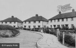 Llansilin, Council Houses c.1955