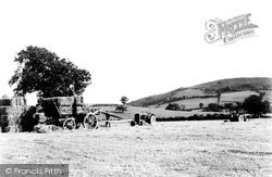 Llansilin, Harvesting 1951