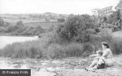 Llansilin, Moelfre Pool c.1955