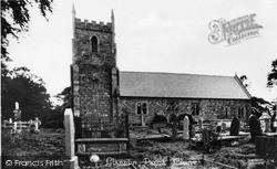 Llansilin, St Sillin's Church c.1950