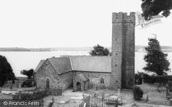 Llanstadwell, St Tudwal's Church c.1960