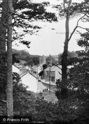 A Peep Through The Trees c.1955, Llansteffan