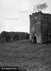 Castle, The Inner Gate From The Upper Ward 1953, Llansteffan