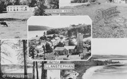 Llansteffan, Composite c.1955