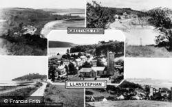 Llansteffan, Composite c.1960