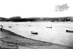 Llansteffan, From Ferryside 1893