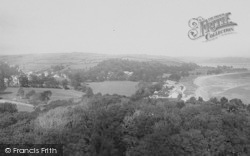 Llansteffan, From The Castle 1893