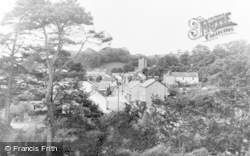 Llansteffan, General View c.1955