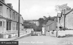 Llansteffan, High Street c.1955
