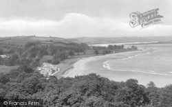 Llansteffan, River Towy From The Castle 1925