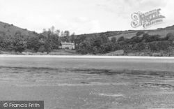 Llansteffan, Scots Bay And Wishing Well c.1955
