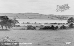 Llansteffan, The Camping Ground c.1960