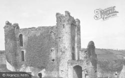 Llansteffan, The Castle c.1955