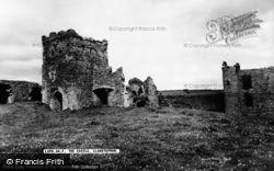 The Castle c.1960, Llansteffan