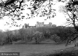 Llansteffan, The Castle From Plas Field c.1955