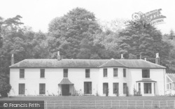 Llansteffan, The Cottage Private Hotel c.1955