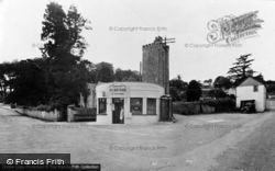 The Square And St Stephan's Church c.1955, Llansteffan
