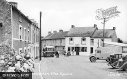 Llansteffan, The Square c.1955