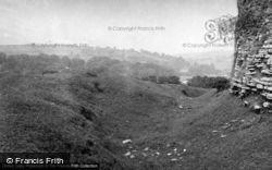 View From The Castle 1953, Llansteffan