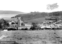 Llansteffan, Village And Castle 1935