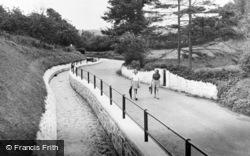 Water Lane c.1955, Llansteffan
