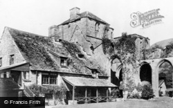 Llanthony, The Abbey Hotel c.1930
