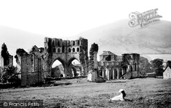 Llanthony, The Abbey North East 1893