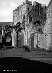 Llanthony, The Priory c.1950