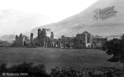 Llanthony, The Priory, From The North-West 1893