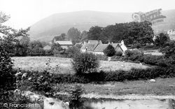 Llanthony, The Valley 1895