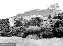 Llantilio Pertholey, St Teilo Church And The Skirrid c.1960