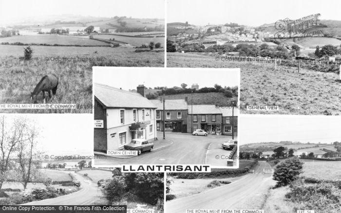 Photo of Llantrisant, Composite c.1965