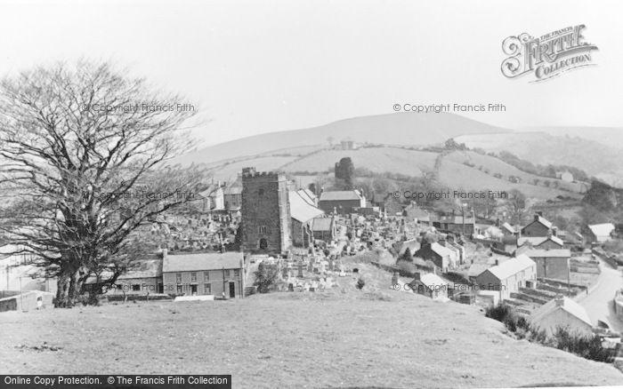 Photo of Llantrisant, General View c.1955