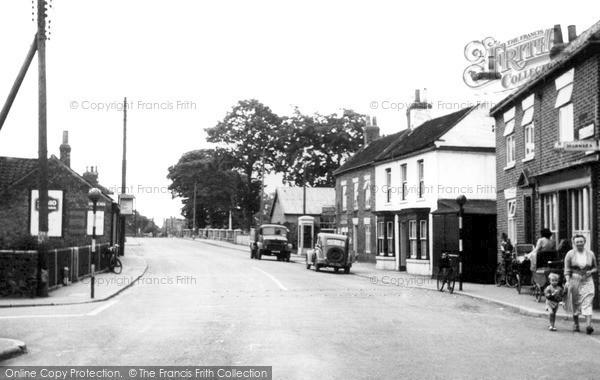 Photo of Llantrisant, Talbot Road c.1955
