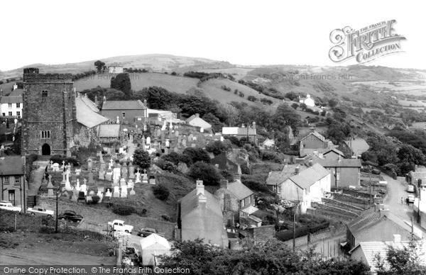 Photo of Llantrisant, The Church c.1965