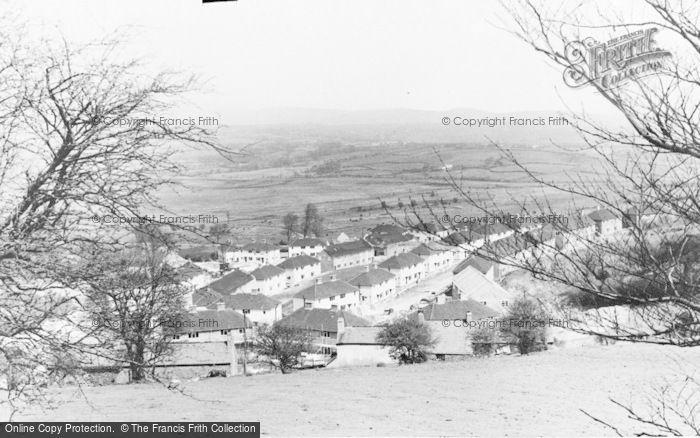 Photo of Llantrisant, The New Estate c.1955