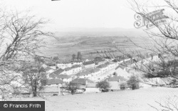 Llantrisant, The New Estate c.1955
