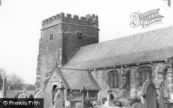 Llantrisant, The Parish Church c.1955