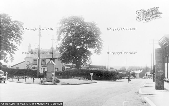 Photo of Llantrisant, The Square, Talbot Road c.1955