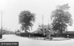 Llantrisant, The Square, Talbot Road c.1955
