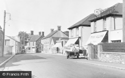 Boverton Road c.1955, Llantwit Major