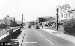 Boverton Road c.1965, Llantwit Major