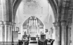 Church Interior 1936, Llantwit Major