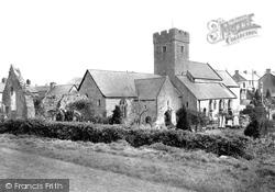 St Illtud's Church 1936, Llantwit Major
