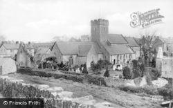 St Illtud's Church 1937, Llantwit Major