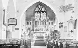 St Illtyd's Church, Altar c.1955, Llantwit Major