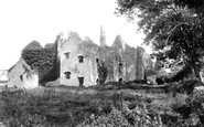 Llantwit Major, Castle 1910